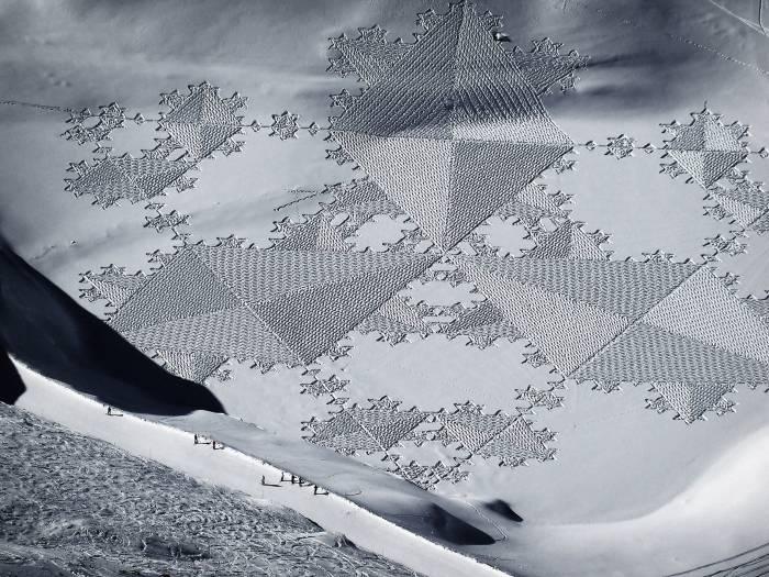 Blog Schneekunst Simon Beck KURTS.ch