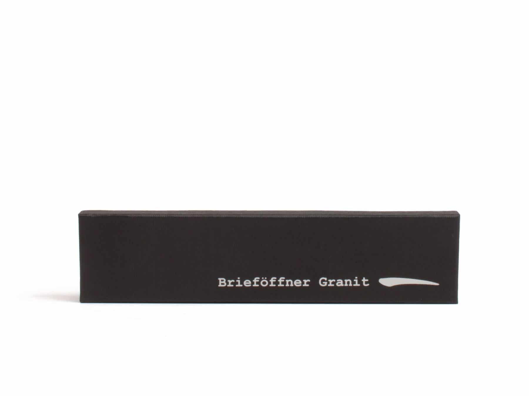 Briefoeffner kaufen Andeerer Granit Stein Schweiz KURTS.ch