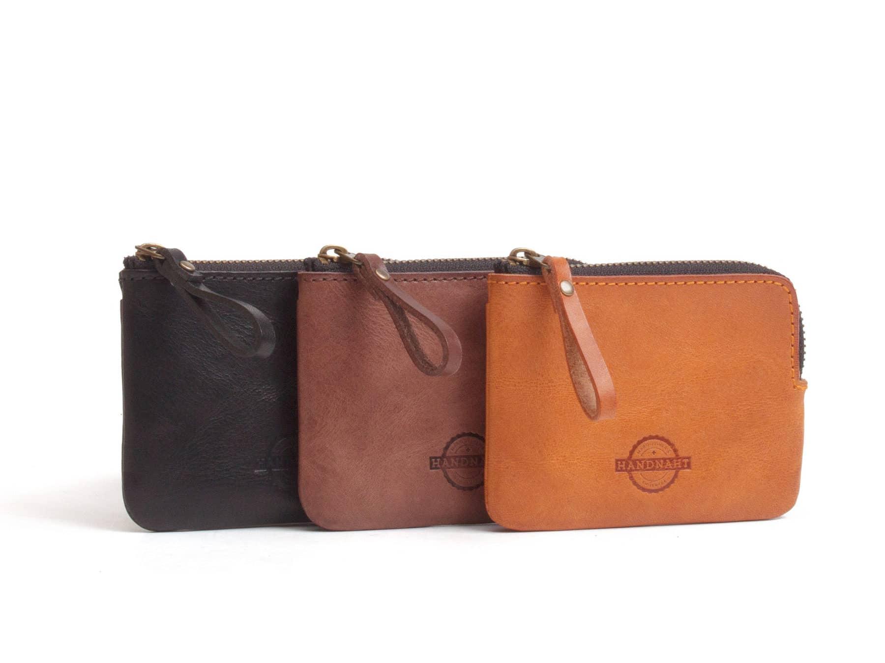 Leder Portemonnaie Brieftasche Leder Schweiz Handnaht KURTS.ch