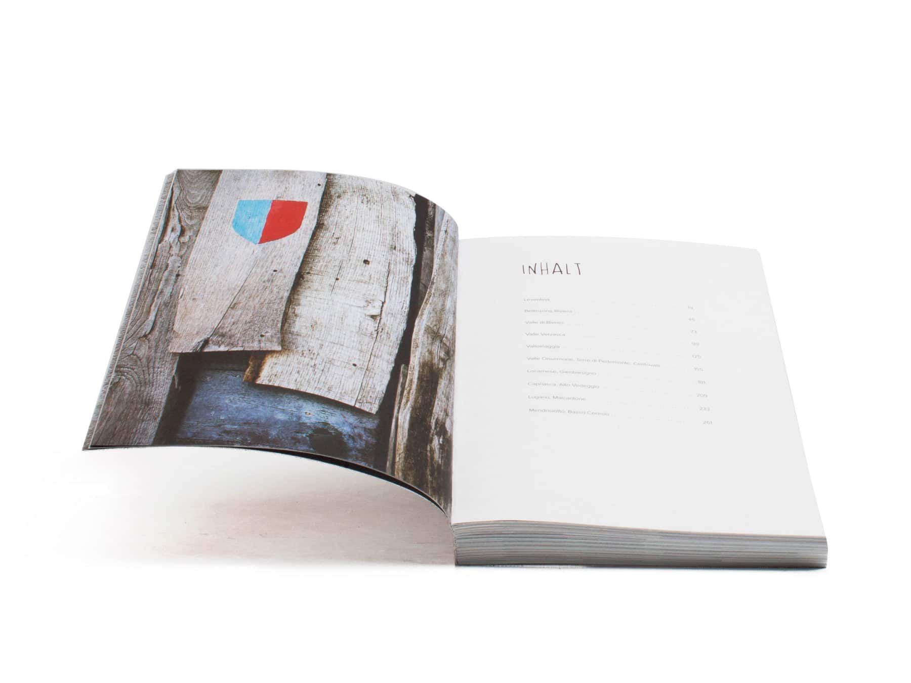 Famiglia Nostrana Buch Ticino Guide