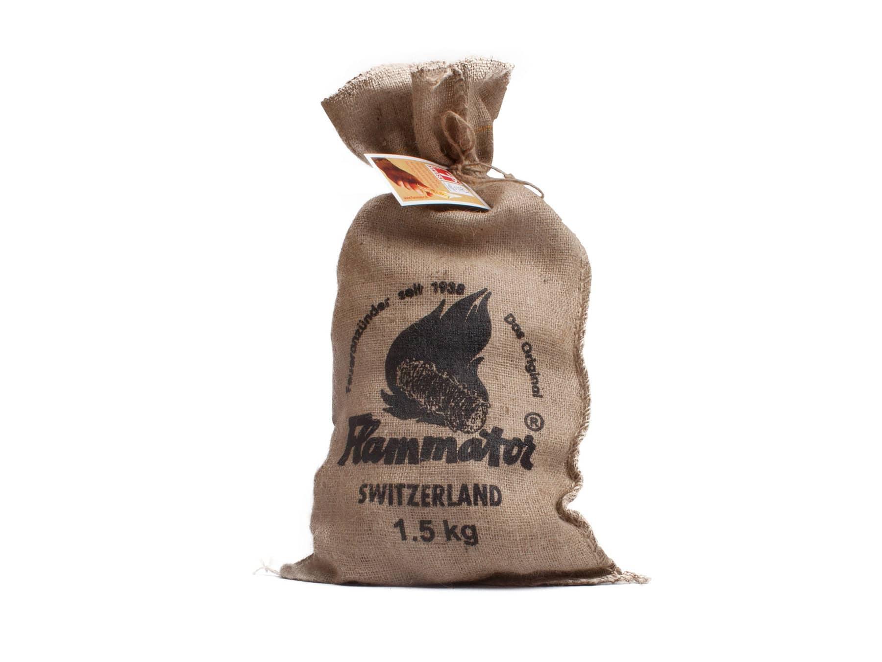 Anzuendhilfe Flammator Anzuendhilfen 1.5kg Sack SChweiz KURTS.ch