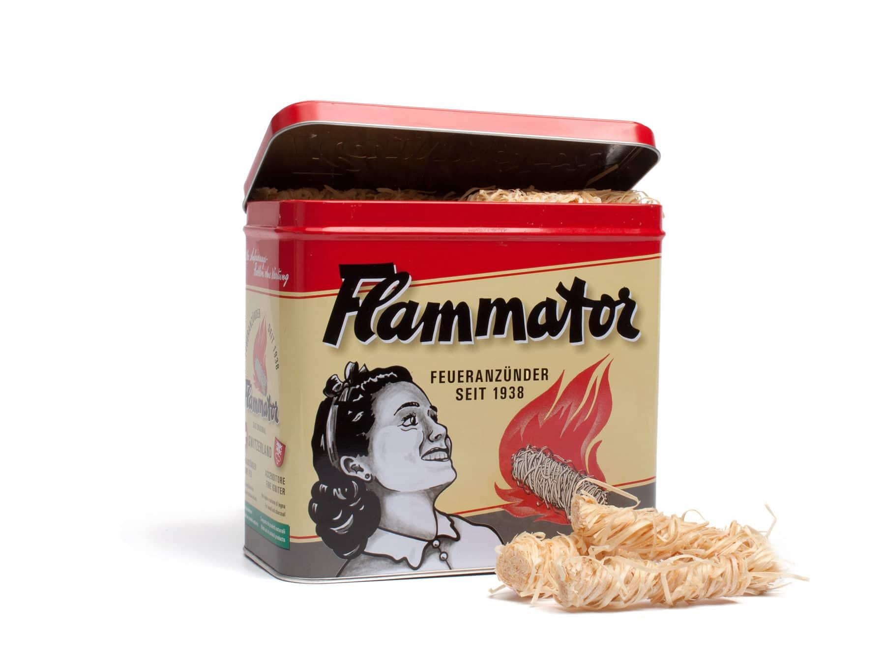Anzuendhilfe Flammator Anzuendhilfen Schweiz Nostalgiebox KURTS.ch