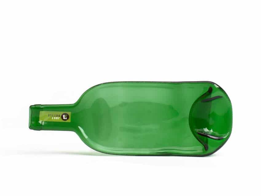 Glasschale grosse Welle Upcycling Glas Schweiz KURTS.ch