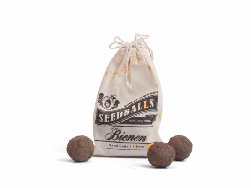Urban Gardening GorillaGardening Bern Seedballs Bienen KURTS.ch