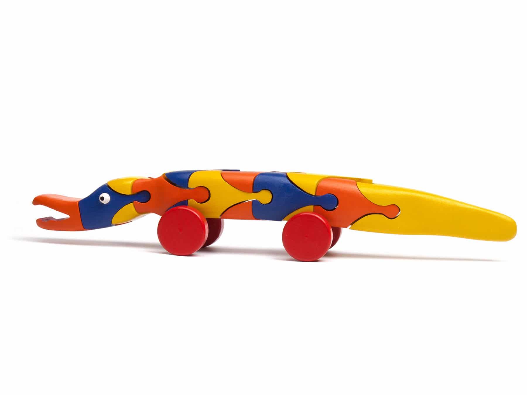 3D Puzzle Krokodil Puzzle Holz 3D Schweiz KURTS.ch