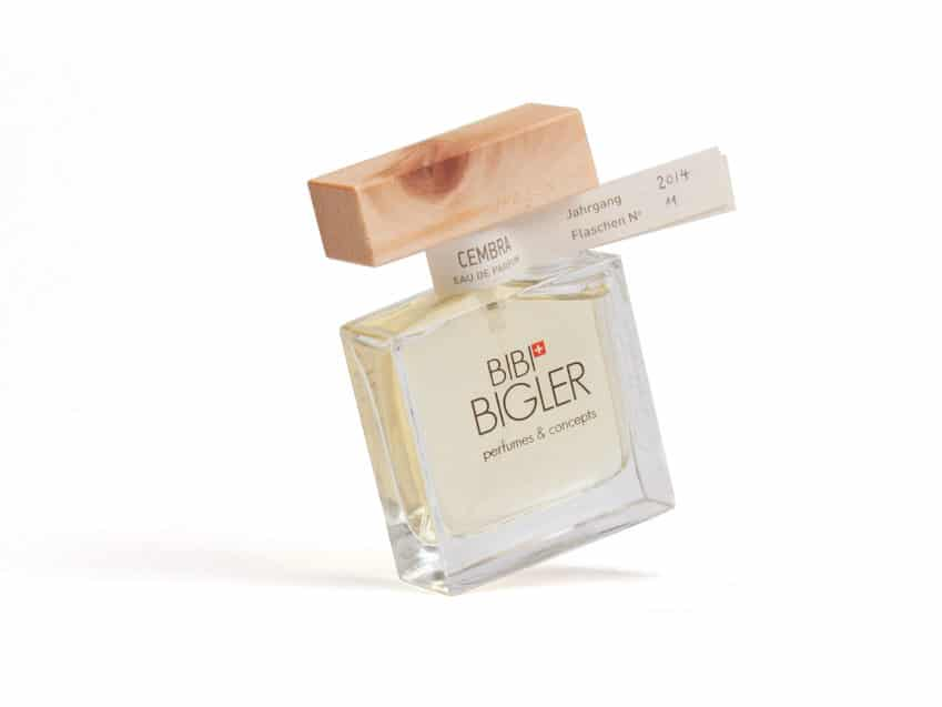 Parfum Arve Schweiz handmade Eau de parfum Cembra Bigler KURTS.ch