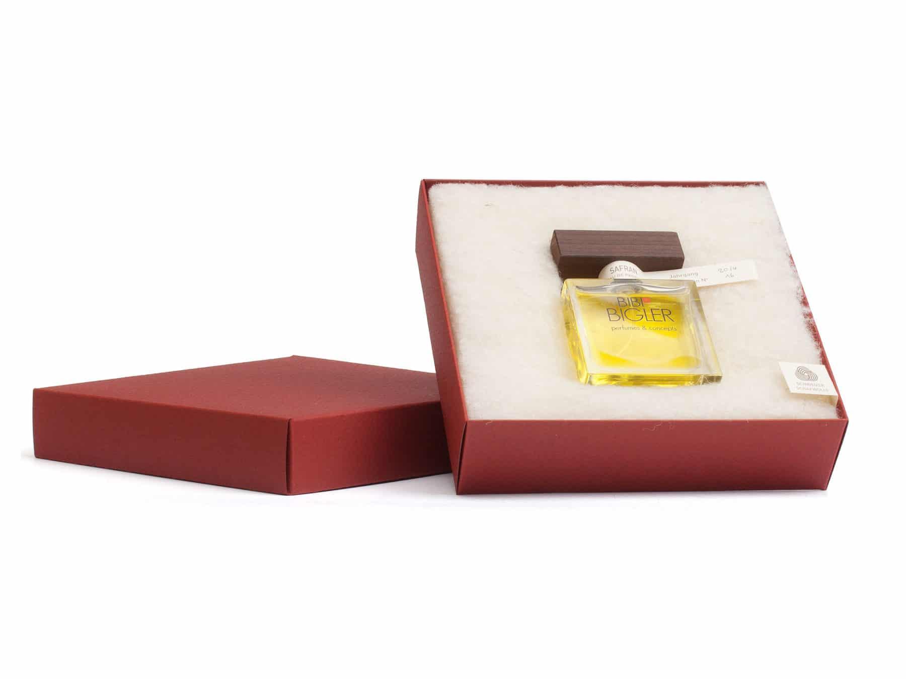 Safran Parfum Schweiz handmade Eau de parfum Bigler KURTS.ch