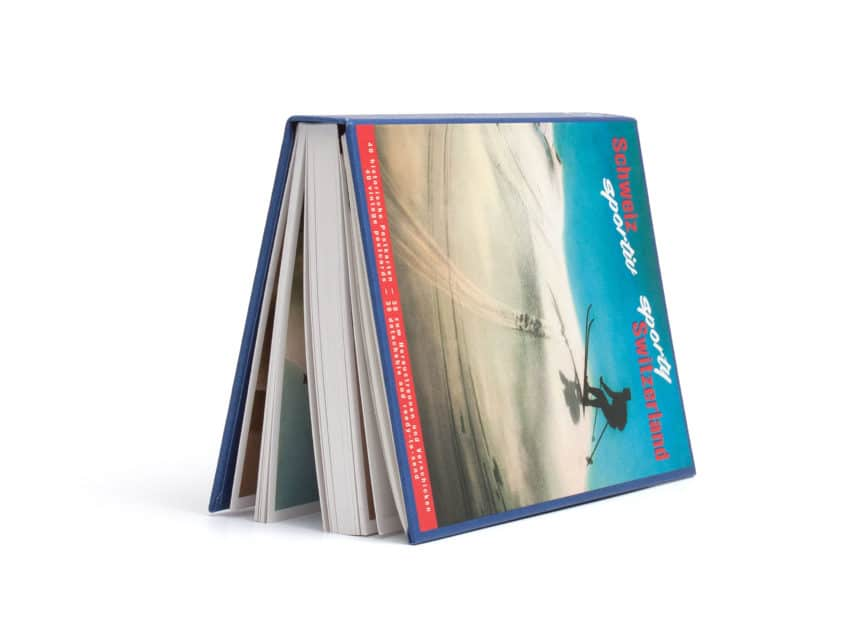 Postkarten bestellen Postkartenbuch Schweiz sportiv AT Verlag alte Postkarten Schweiz KURTS.ch