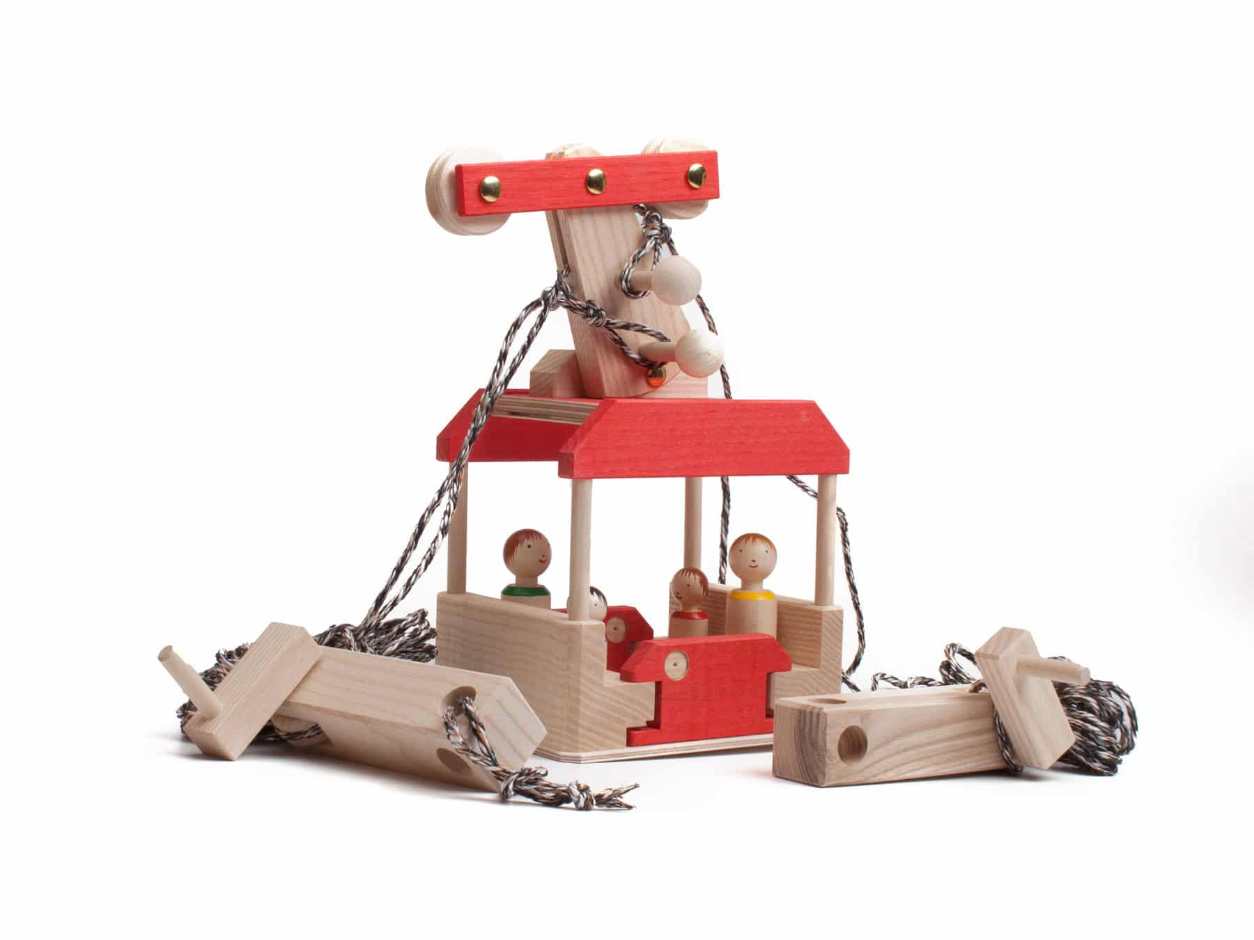 Seilbahn Spielzeug Seilbahnset Schweiz Gross KURTS.ch