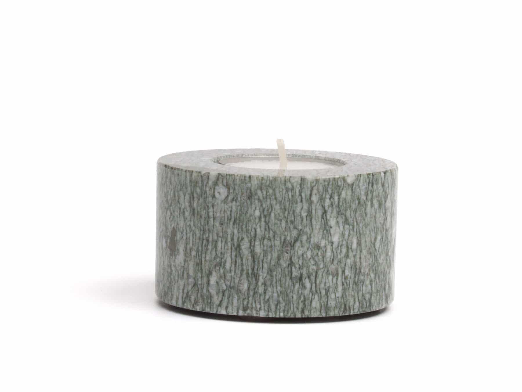Stein Teelicht Granit Schweiz Andeer KURTS.ch