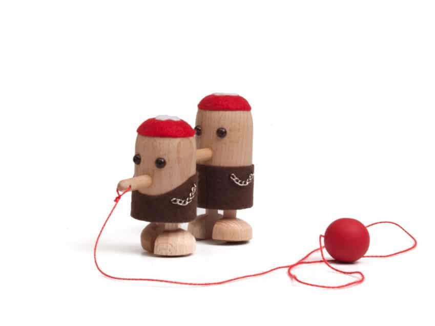 Spielzeug Holz Schweiz Toggenburgerli Wacklerfiguren Schweiz Spiel Original Holz KURTS.ch