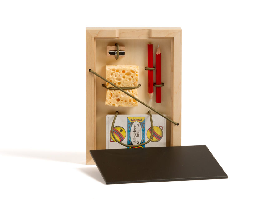 Schweizer Jass Set Trumpf Buur Fidea Design Holz KURTS.ch