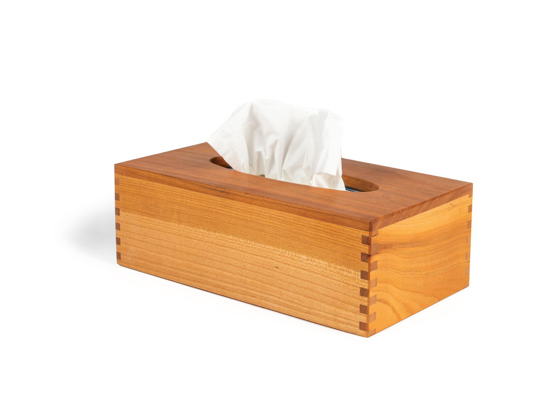 Kosmetituecher Box Holz Schweiz Kleenex swissmade KURTS.ch