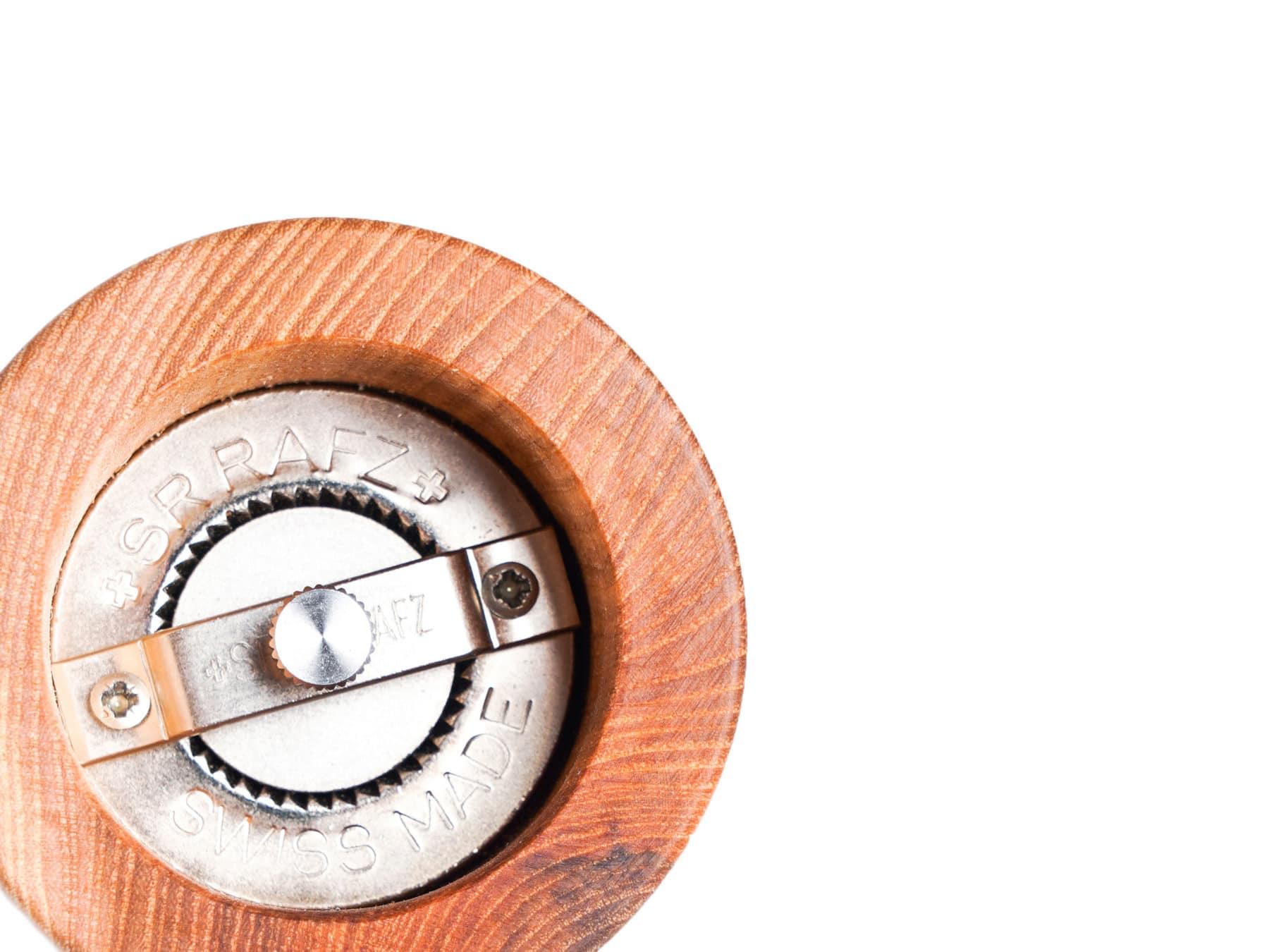 Pfeffermühle Holz Schweiz swissmade 100% Schweizer Mahlwerk KURTS.ch