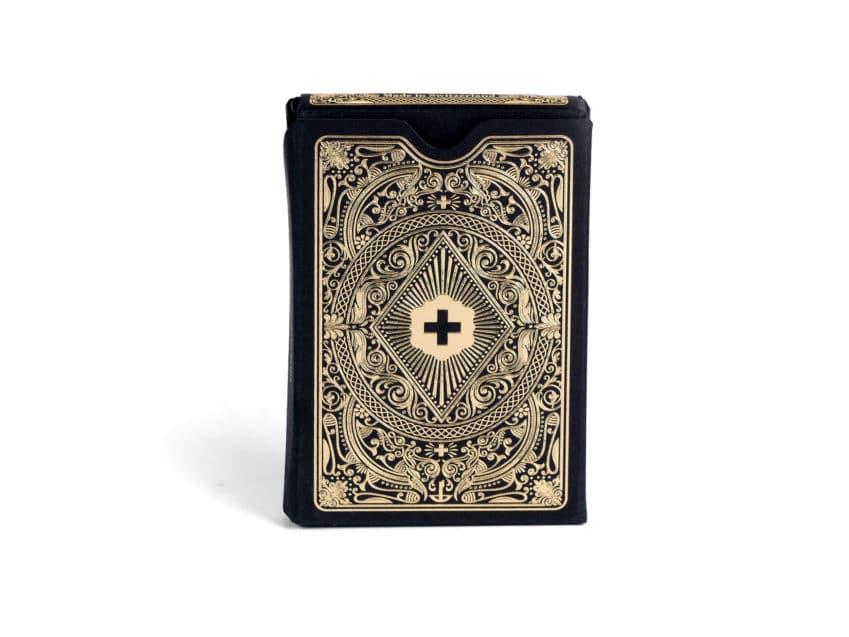 Schweizer Jasskarten SchweizerJass 100% swissmade black gold deluxe KURTS.ch