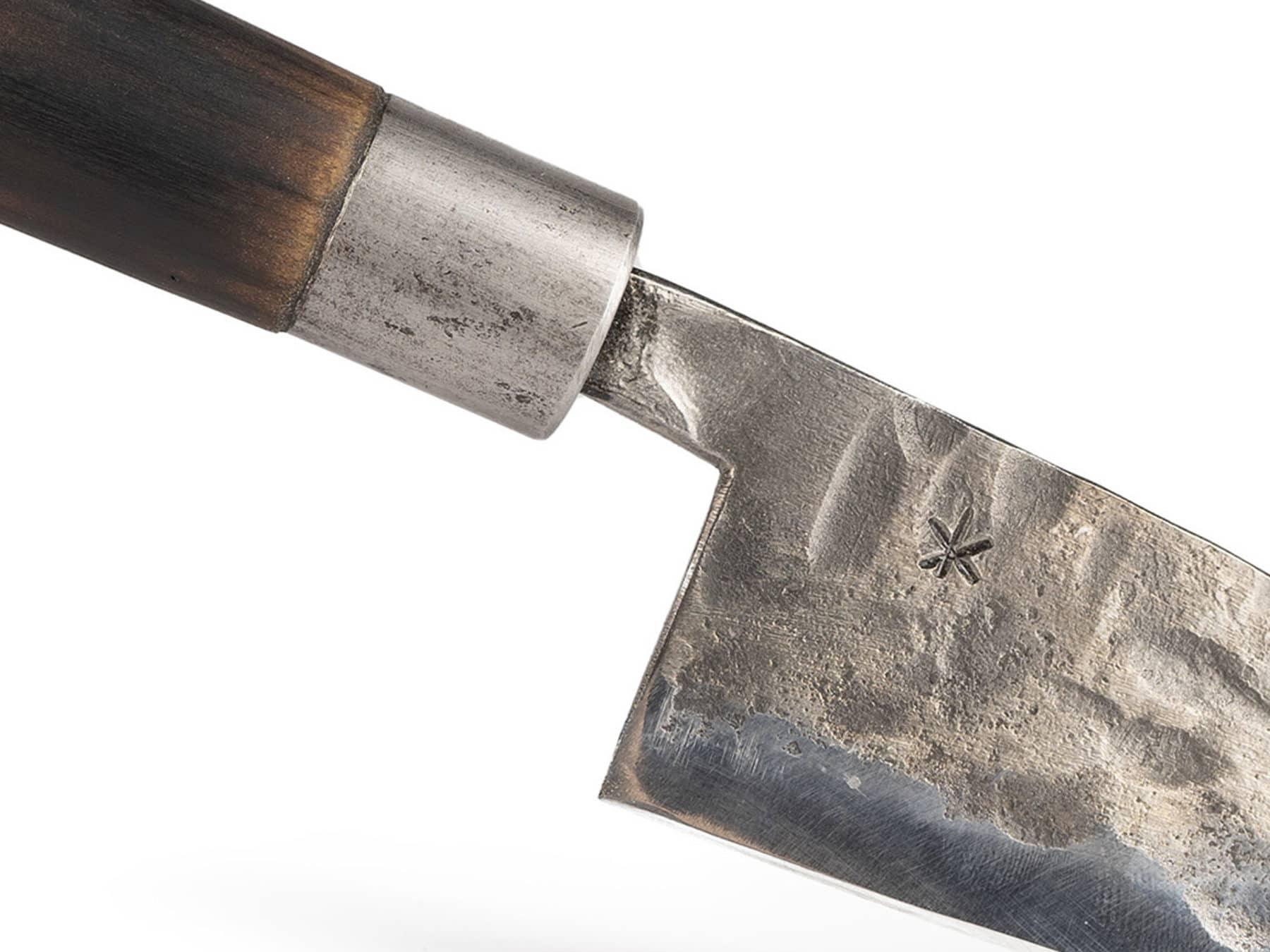 Kuechenmesser klein swiss made handgeschmiedet KURTS