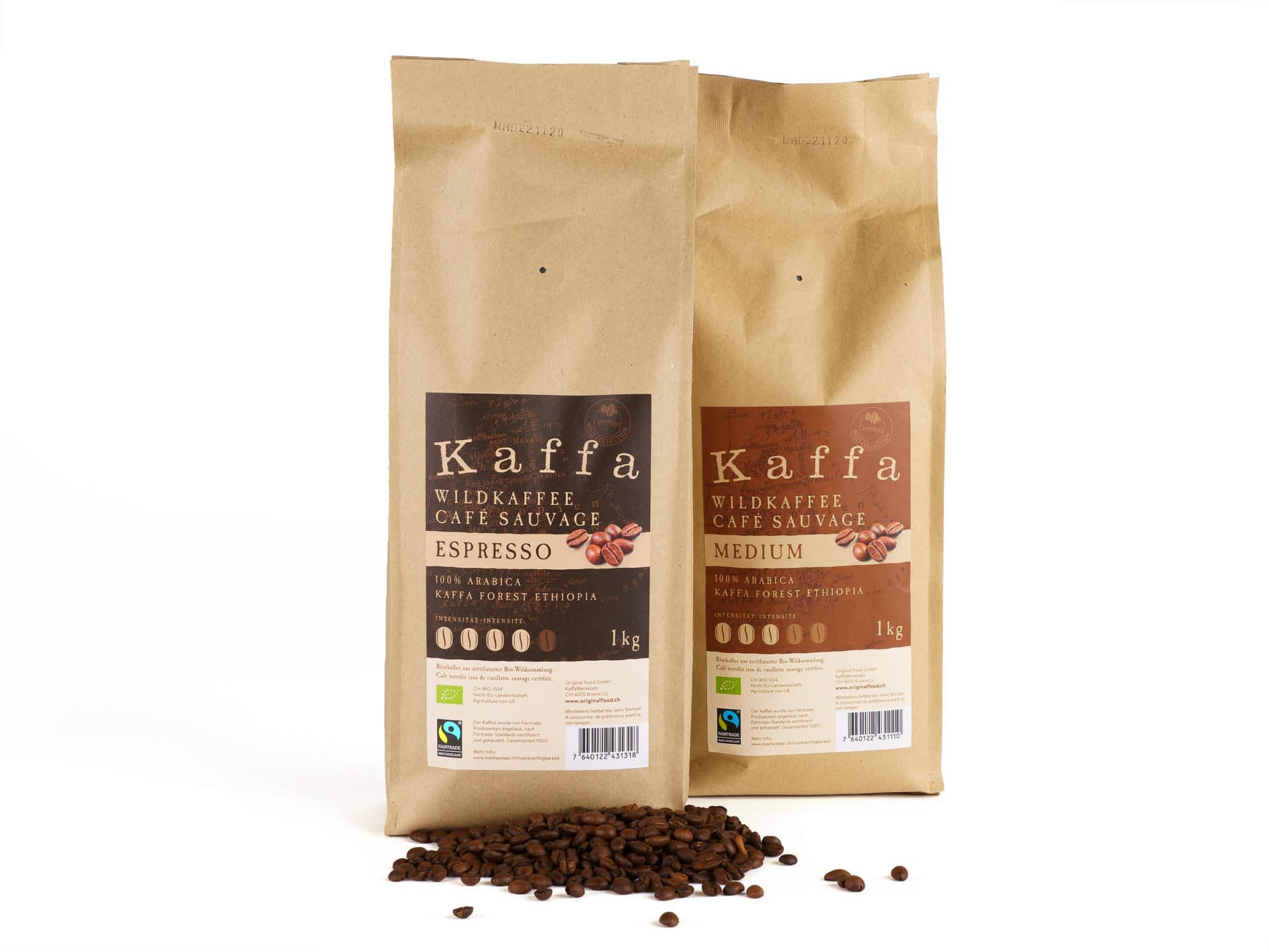 Kaffa Wildkaffee Original Food Bio KURTS