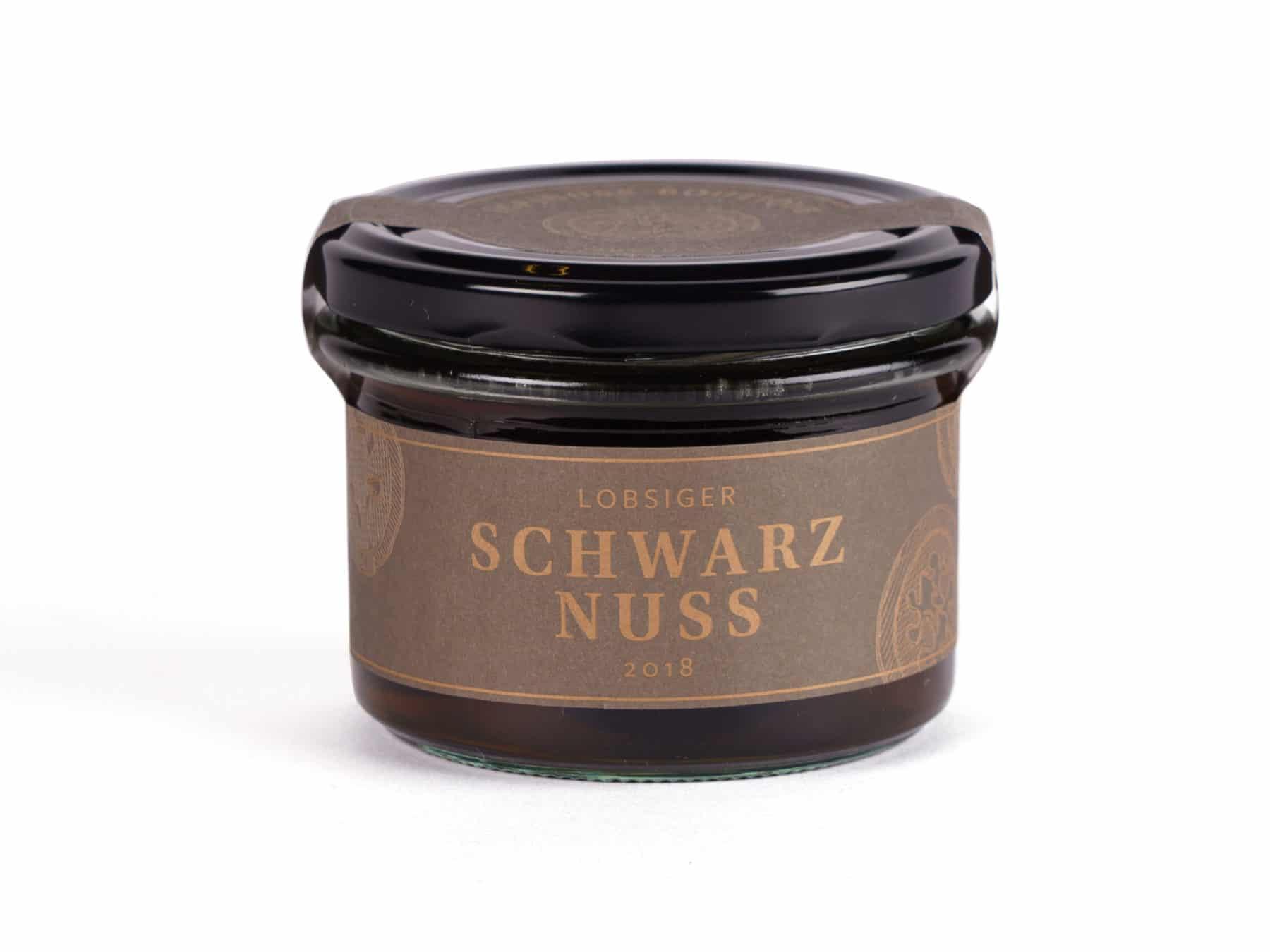 Lobsiger Schwarznuss Schweizer Gourmet Delikatesse ideal zu Kaese