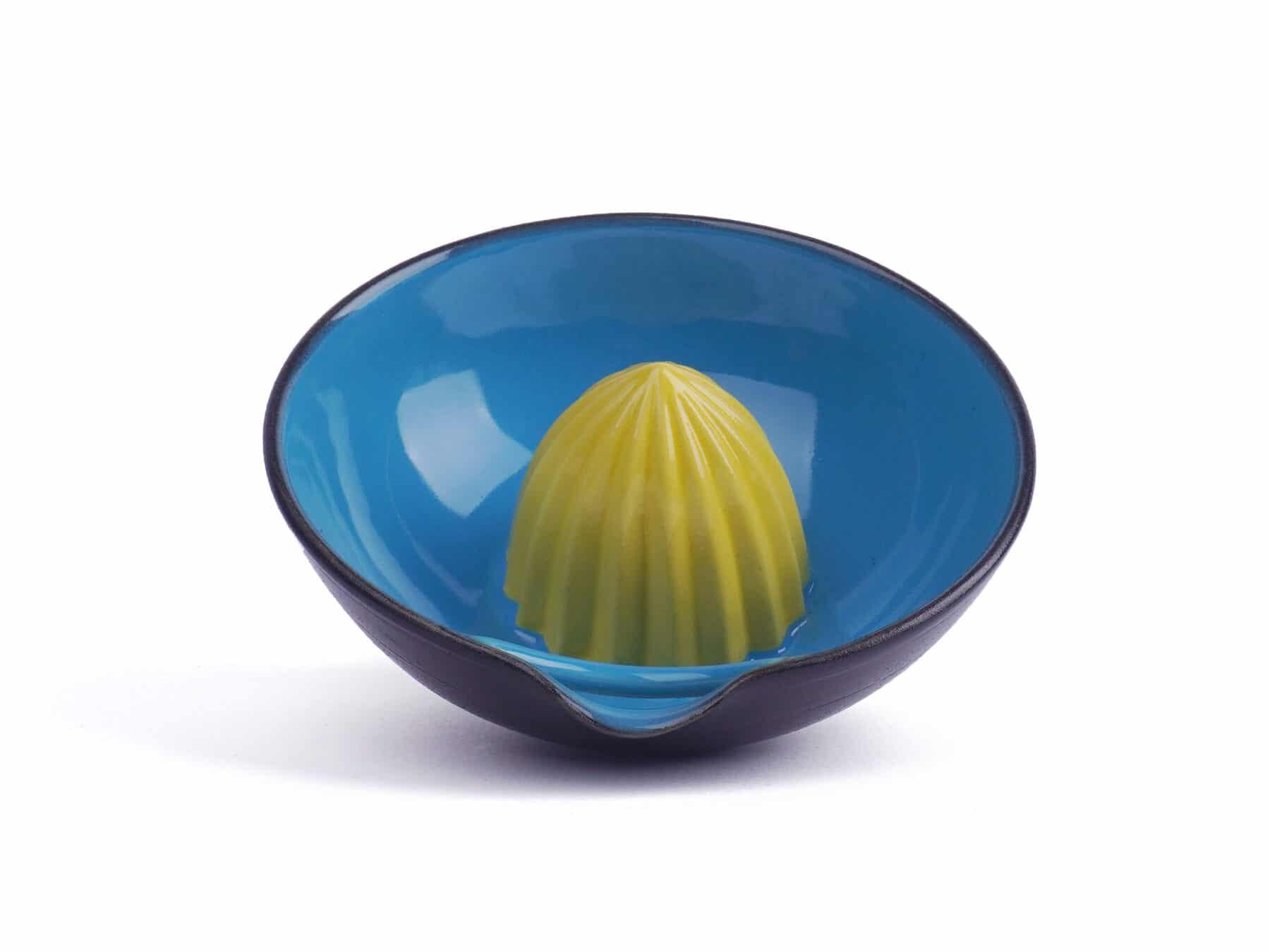 Zitronenpresse Keramik swiss made handmade kurts