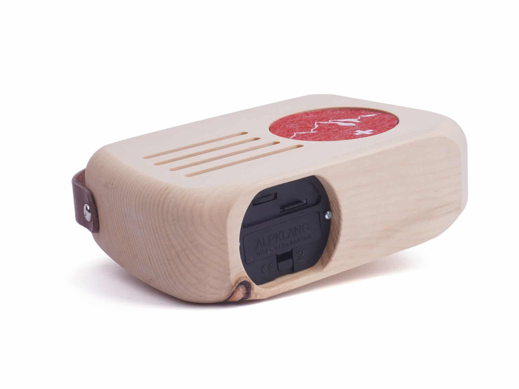 Klangbox Senn swiss made Holzradio Alpklang