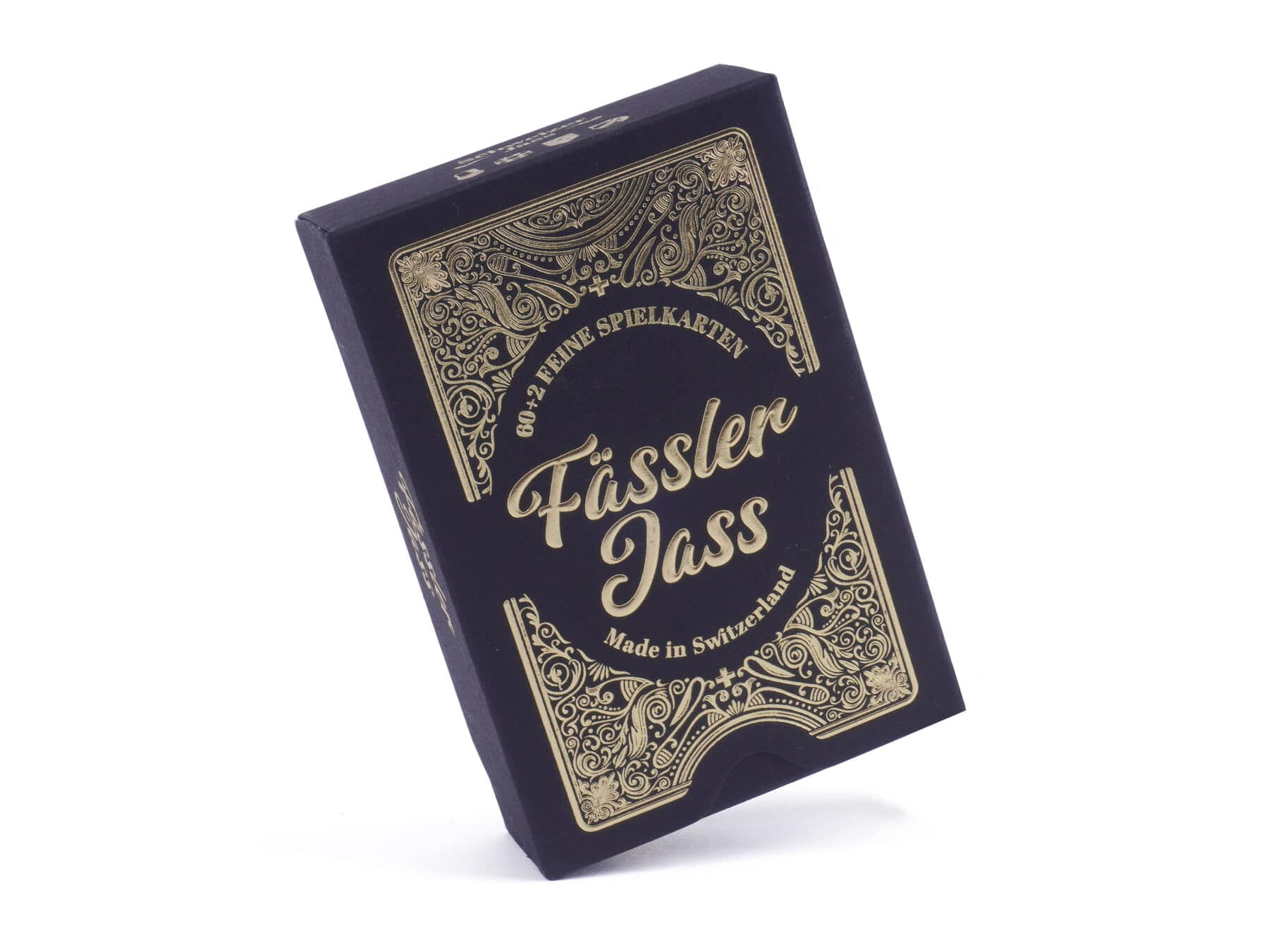 Faessler Jass Deluxe Gold swiss made