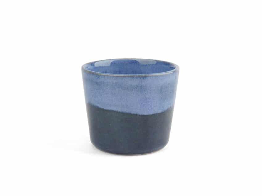 Espresso Tasse Espressobecher Blaue Stunde Keramik swiss made