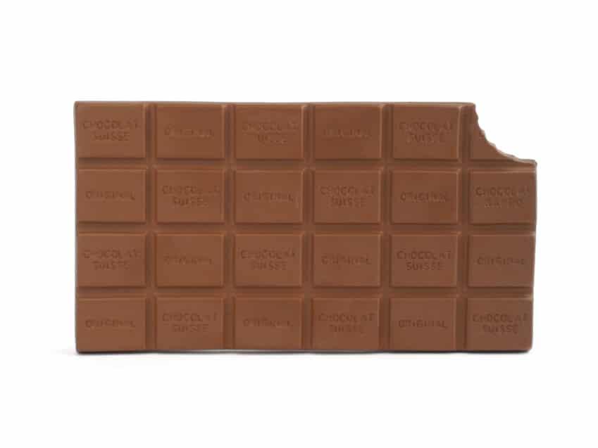 Untersetzer Schokolade Schokoladentafel Keramik swiss made